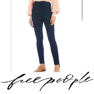 Free People Feel Alright Seamed Ankle Skinny Jeans